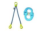 Løftekæde og kædeslyng med tilbehør