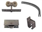 Skydedørsbeslag til ind- og udvendige døre/porte