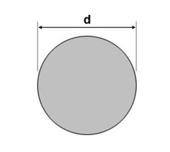 Rundstahl St37 S235JRC+C blank gezogen h9 C Durchmesser /Ø 25mm x 1000mm